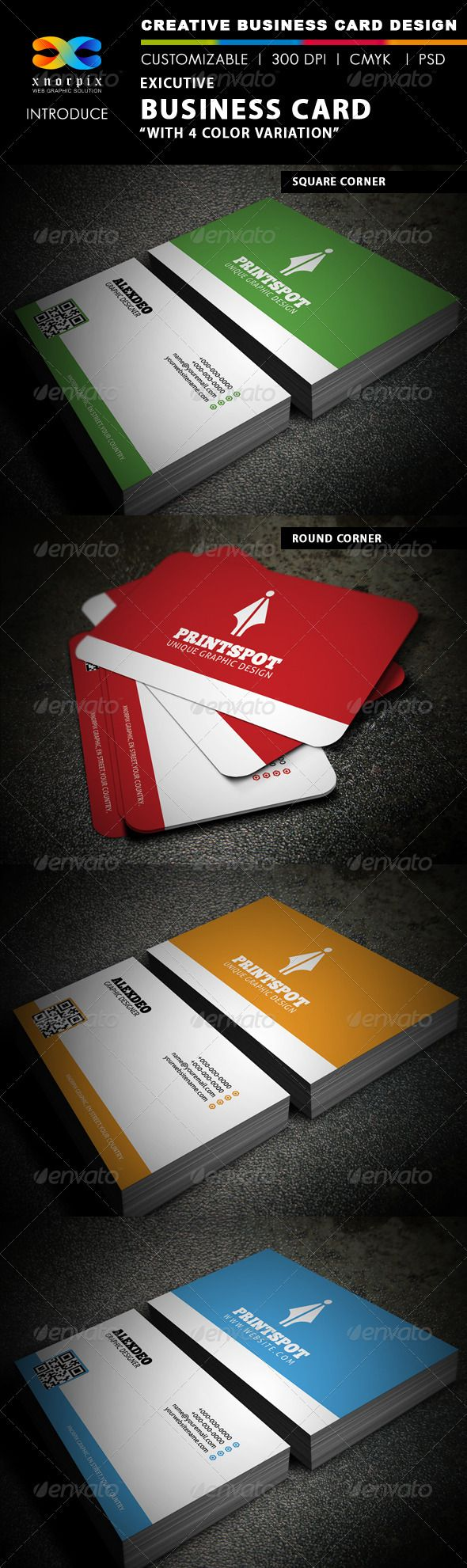 Executive Business Card Projects To Try Pinterest