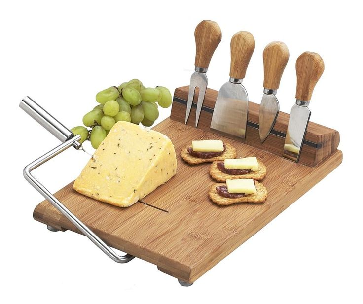 Silton Slicer Cheese Board Set//