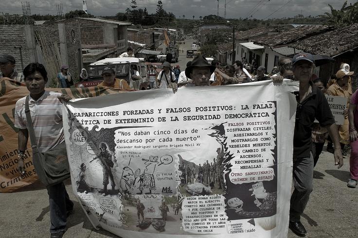 Peregrinación por las calles de Trujillo. Crédito Rodrigo Grajales.