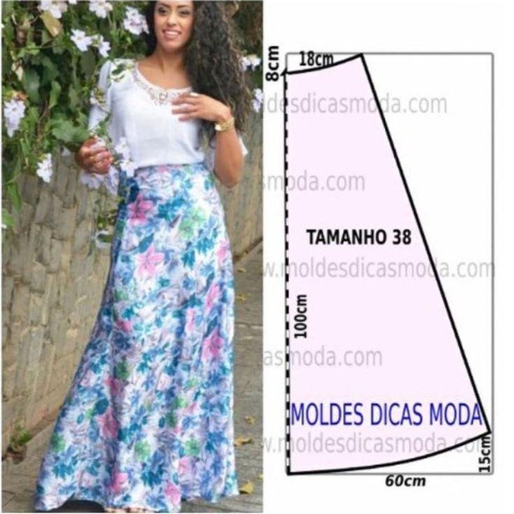 #etek #skirt kalıbı. Desteklemek için lütfen yorum yapınız & begen butonun…