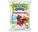 A box of 12 bags of The Natural Confectionery Company Party Mix Lollies.