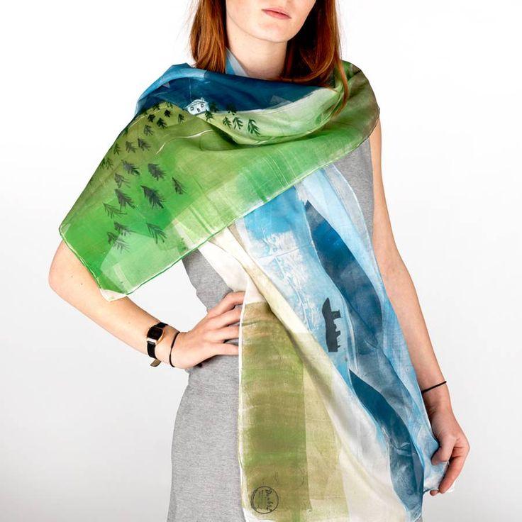 Camber Silk Scarf