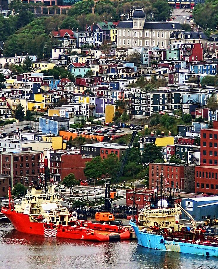 St. John's, Newfoundland, Canada | 21 Most Colorful And Vibrant Places In The World....that's my home!