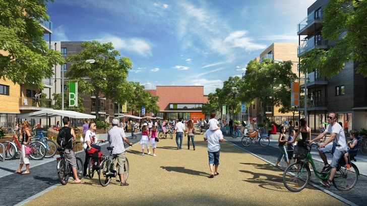 North West Bicester eco-town is the UK's first zero carbon community | Inhabitat - Sustainable Design Innovation, Eco Architecture, Green Building