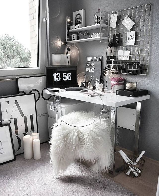 Home Office Decor, Cute Room