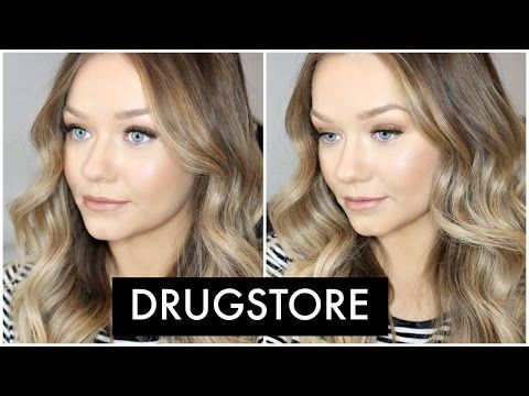 DRUGSTORE Flawless Foundation Routine | Maybelline FIT Me Matte + Poreless Foundation - YouTube