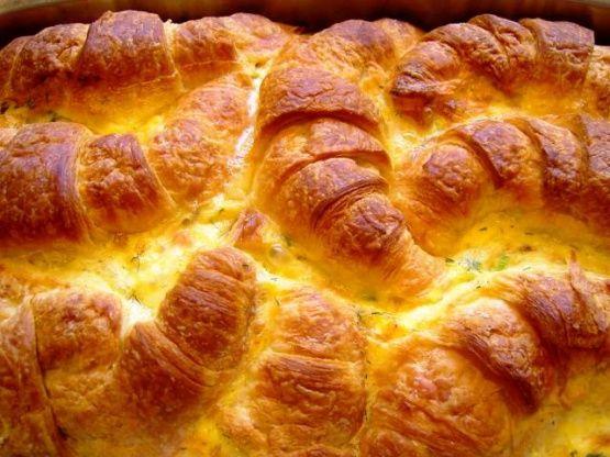 Croissant And Salmon Or Ham) Breakfast Casserole Recipe - Breakfast.Food.com