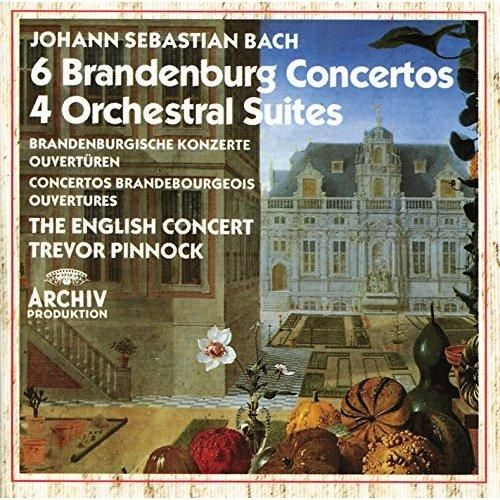 The English Concert and Trevor Pinnock - Bach: Brandenburg Concertos; Orchestral Suites (3 CDs)