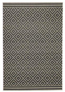 Matto RAPS 160x230cm l.värinen/musta | JYSK
