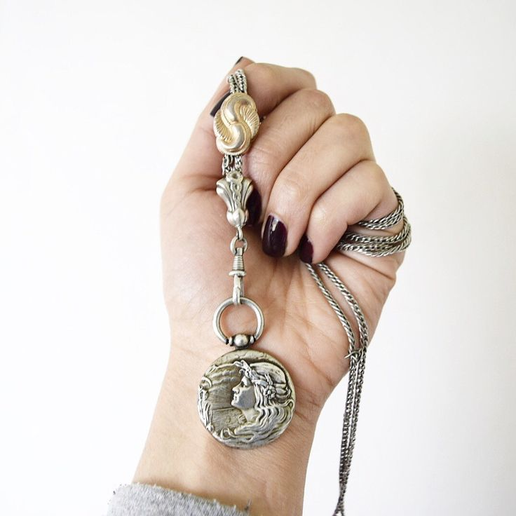 Love this Guard Chain/Locket combination. Both are available in the shop!