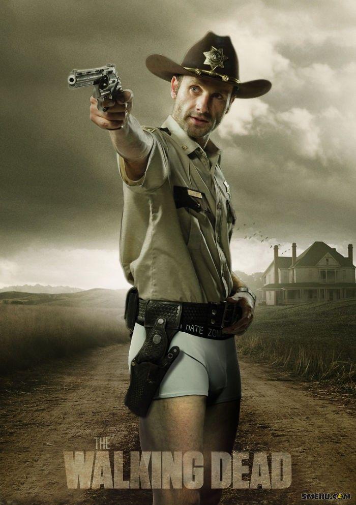 Рик Граймс без штанов