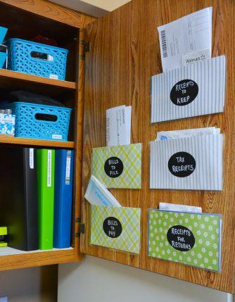 estação de organização familiar {Blog Divirta-se Organizando}