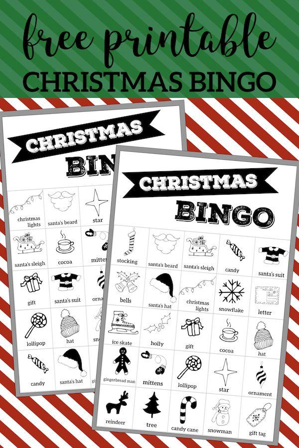 Free Christmas Bingo Printable Cards | Christmas Printables ...