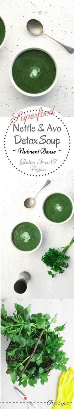 Nettle & Avocado Detox Soup – Rebels Kitchen