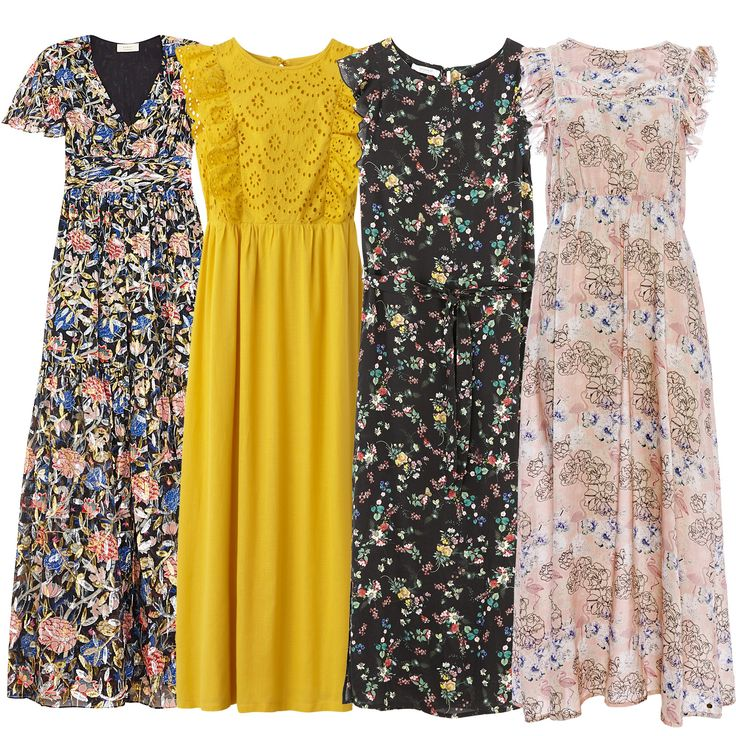 Robes longues, sélection shopping