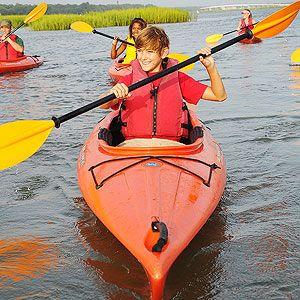 10 Things to Do with Kids on Hilton Head Island, South Carolina: 6. Kayak with the Kids (via Parents.com)