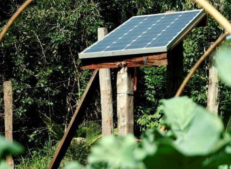 Horta Sustentável com uso de energia solar será entregue no Tocantins