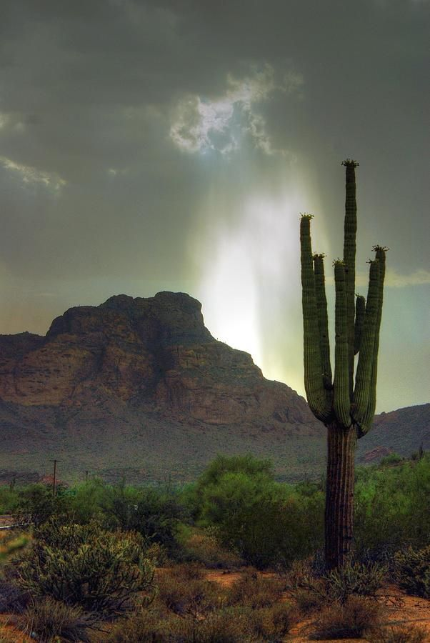 Storm over Red Mountain - Arizona
