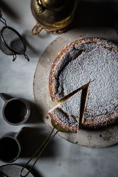 Local Milk | white chocolate ricotta cheesecake with lemon, cardamom, and nutmeg