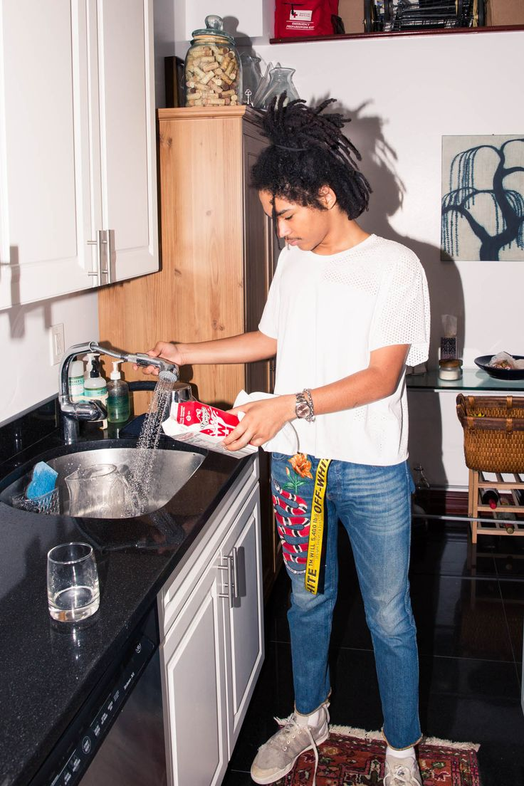 Inside Model and Stylist Luka Sabbat's Closet  | coveteur.com