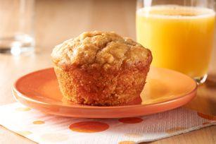 Peanut Butter-Banana Muffins recipe