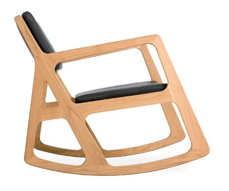 Autoban Sleepy Rocking Chair   Autoban Takes On That Amusing Icon Of Our  Childhood: The Rocking Chair Solid Walnut Or Oak Is Used As The Primary  Material.
