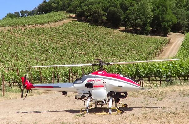 Ag drones can lead to smarter farming espcially for high value corps like wine growers.