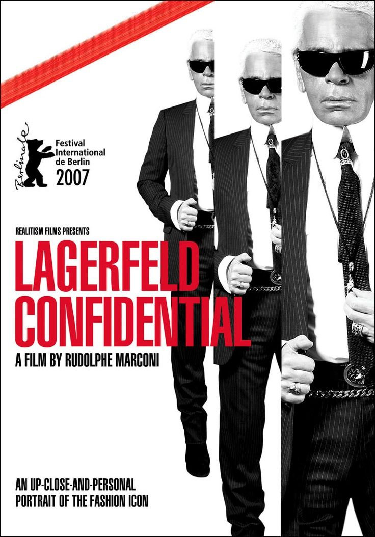 Lagerfeld Confidentiel de Rodolphe Marconi © 2007 Realitism Film / Melange / NoSugarNoMilk