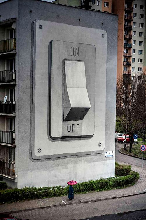 What happens when it gets turned off?  #art