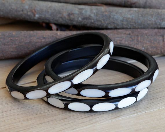 African Bangle  Bone Bangle  Ethnic Bangle  by africaohafrica