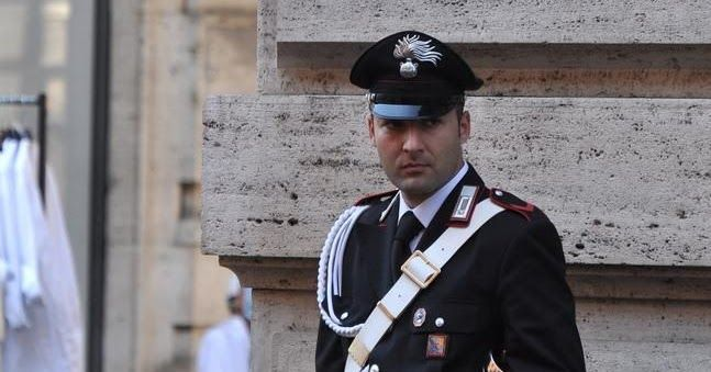 Italian Police Uniform   Half Windsor Full Throttle: Stylish Italian Police Uniforms ...
