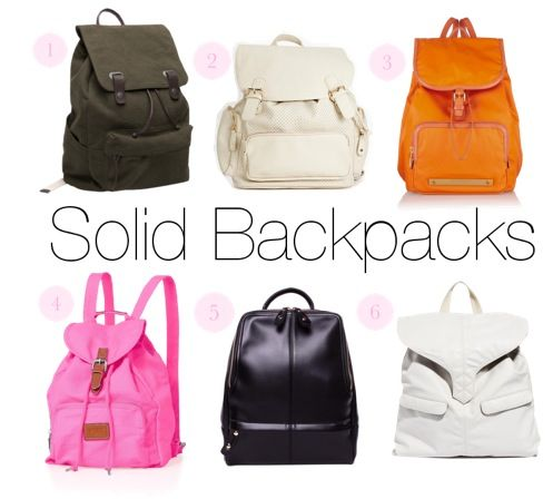 #Backpacks you won't want to banish - back to #school!