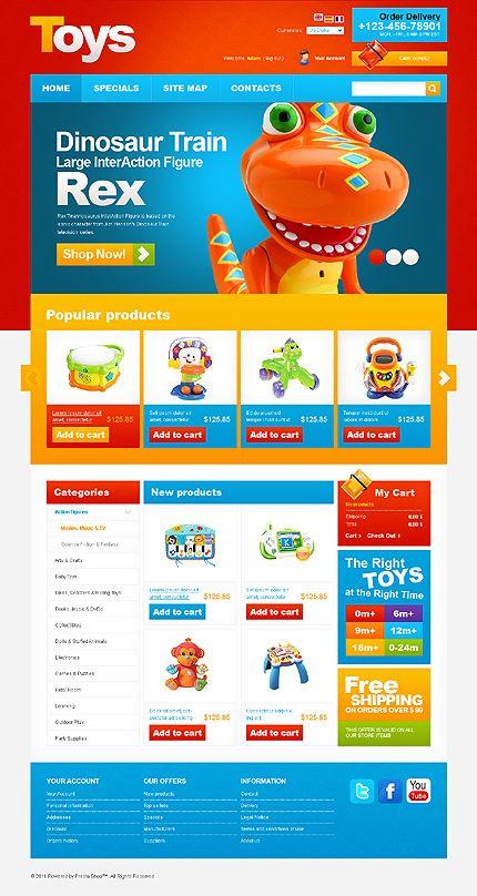 Toys Store PrestaShop Themes by Mercury