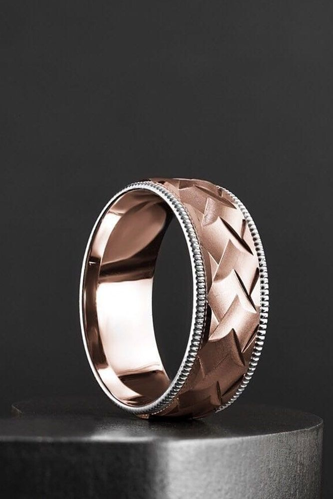 27 Unique Engagement Rings That Will Make Her Happy Mens Wedding Bands Mens Wedding Rings Ruby Wedding Rings