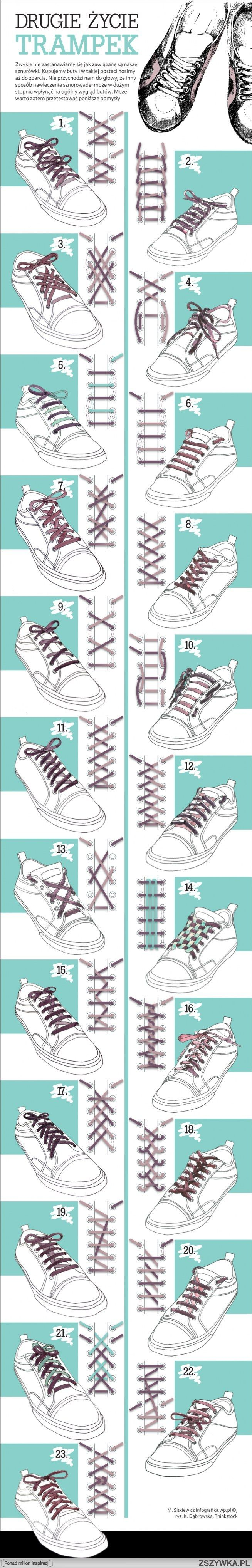 how to do different laces