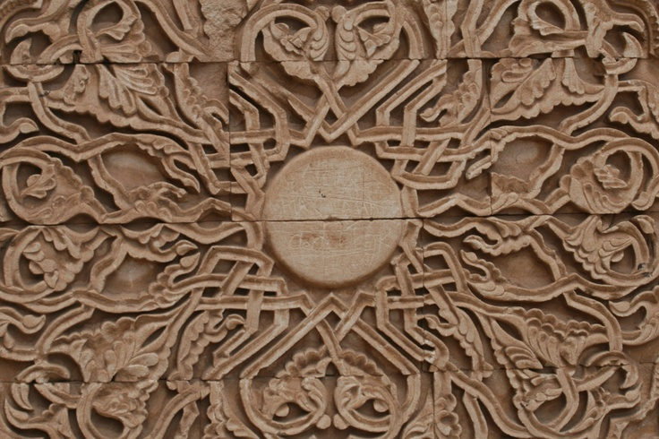 #Relief carving detail from Ishak Pasa Palace, #Doyabeyazit, #Turkey