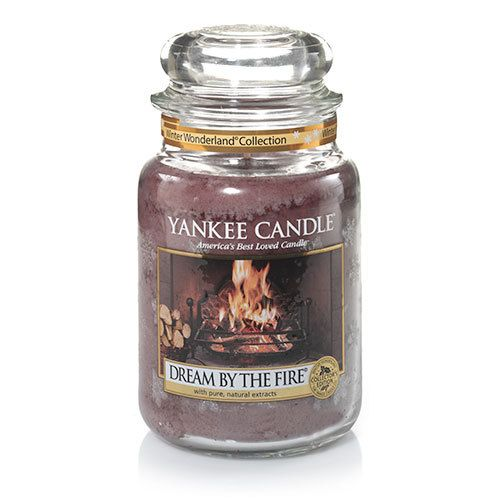 Winter Wonderland© Collection (Dream by the Fire©) : Large Jar Candles : Yankee Candle
