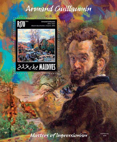 "MLD 14210 bArmand Gaullamin (""Moulin Bouchardon, Crozant"" 1895)"