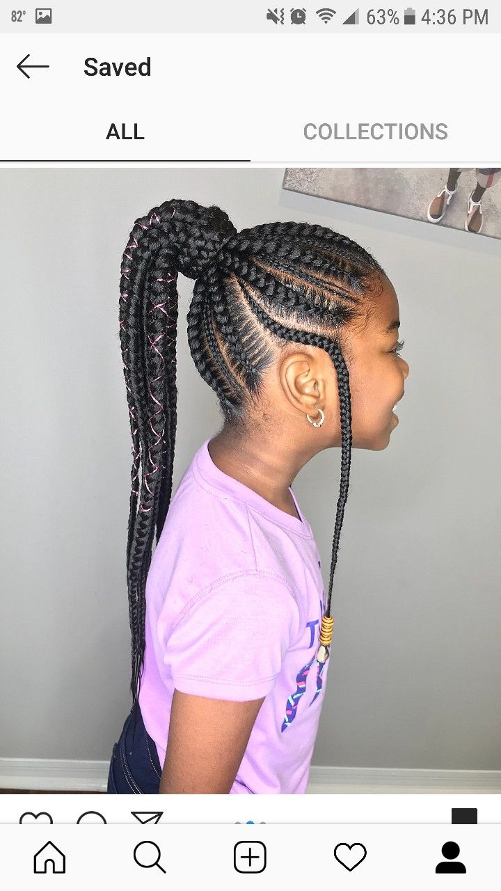 Pin By Mailyah On Kids Hairstyles Hair Styles Little Girls Ponytail Hairstyles Little Girl Hairstyles