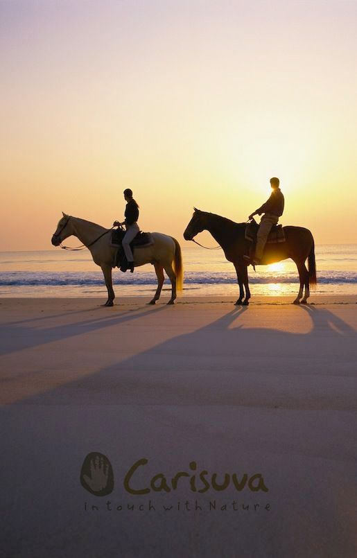 A Sunset Horseback Ride Is The Perfect Way To Take In The