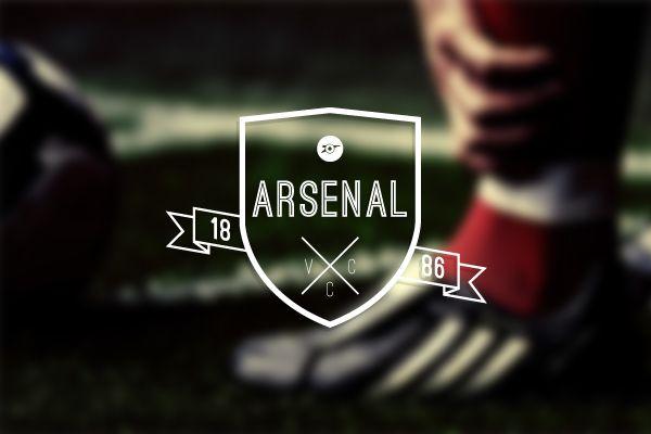 Arsenal F.C Logo Design by Richard Dalrymple, via Behance