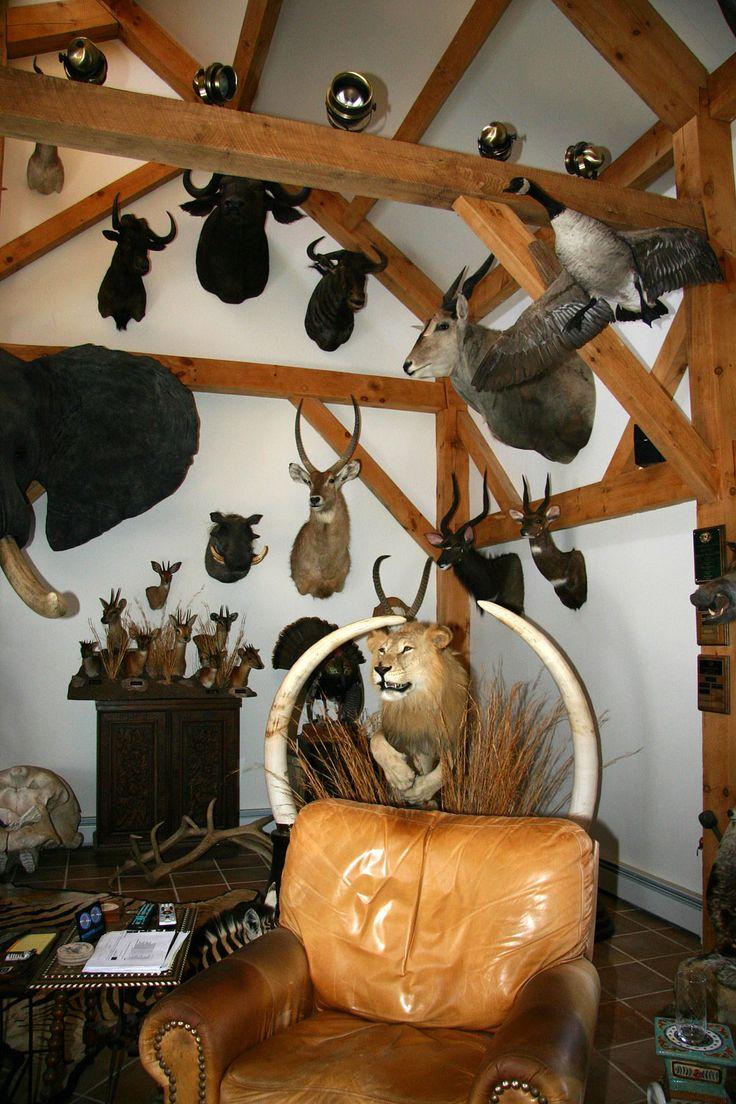 Gun room amp trophy room done hunting - Taxidermy Trophy Room By Northeast Taxidermy Studios Taxidermy Decor Interiordesign
