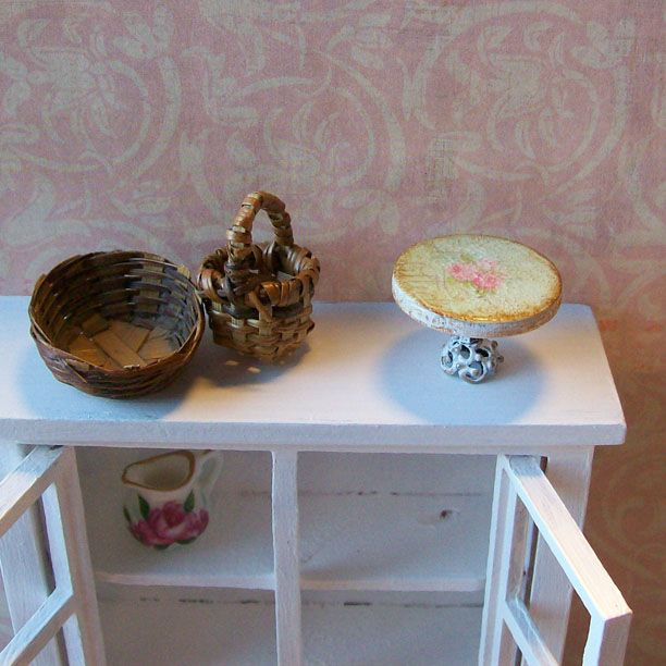 14 best Dollhouse Miniature Shabby Chic Accessories images ...