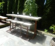 Outdoor kitchens in Vancouver and Burnaby, glass enclosed hot tubs, Koi ponds, rustic garden house, outdoor man cave | newaircustomdesign.co...