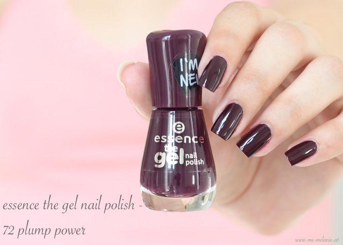 essence the gel nail polish - 72 plump power