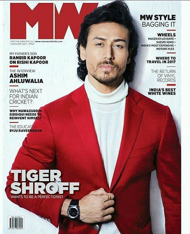Tiger Shroff On The Cover Of MW Magazine February 2017