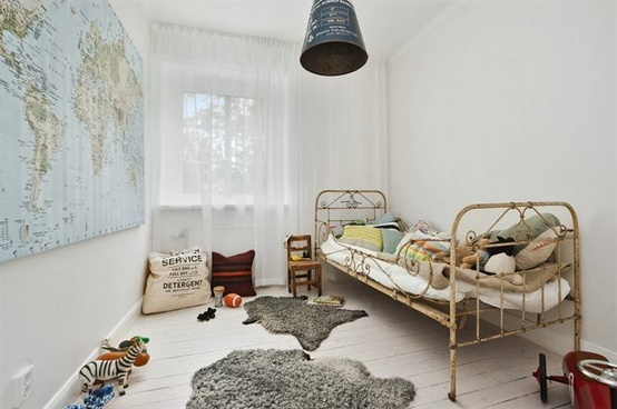 mommo design: Vintage Boys Rooms