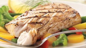 Delicious Grilled Mahi Mahi Recipes - Schwan's Fish & Seafood Delivery - Creating delicious fish on the grill is easy with this flavorful wild caught Mahi Mahi recipe. From lemon pepper seasoning to macademia encrusted fillets, Schwan's has the best grilled fish recipes. Get Schwan's seafood delivered and get inspired today! #Schwans