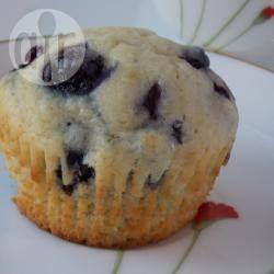 Muffin ai mirtilli della nonna @ allrecipes.it