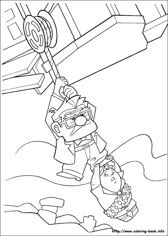 up kevin coloring pages - photo#20